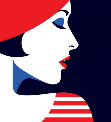 Bold and Minimal: Illustrations by Malika Favre