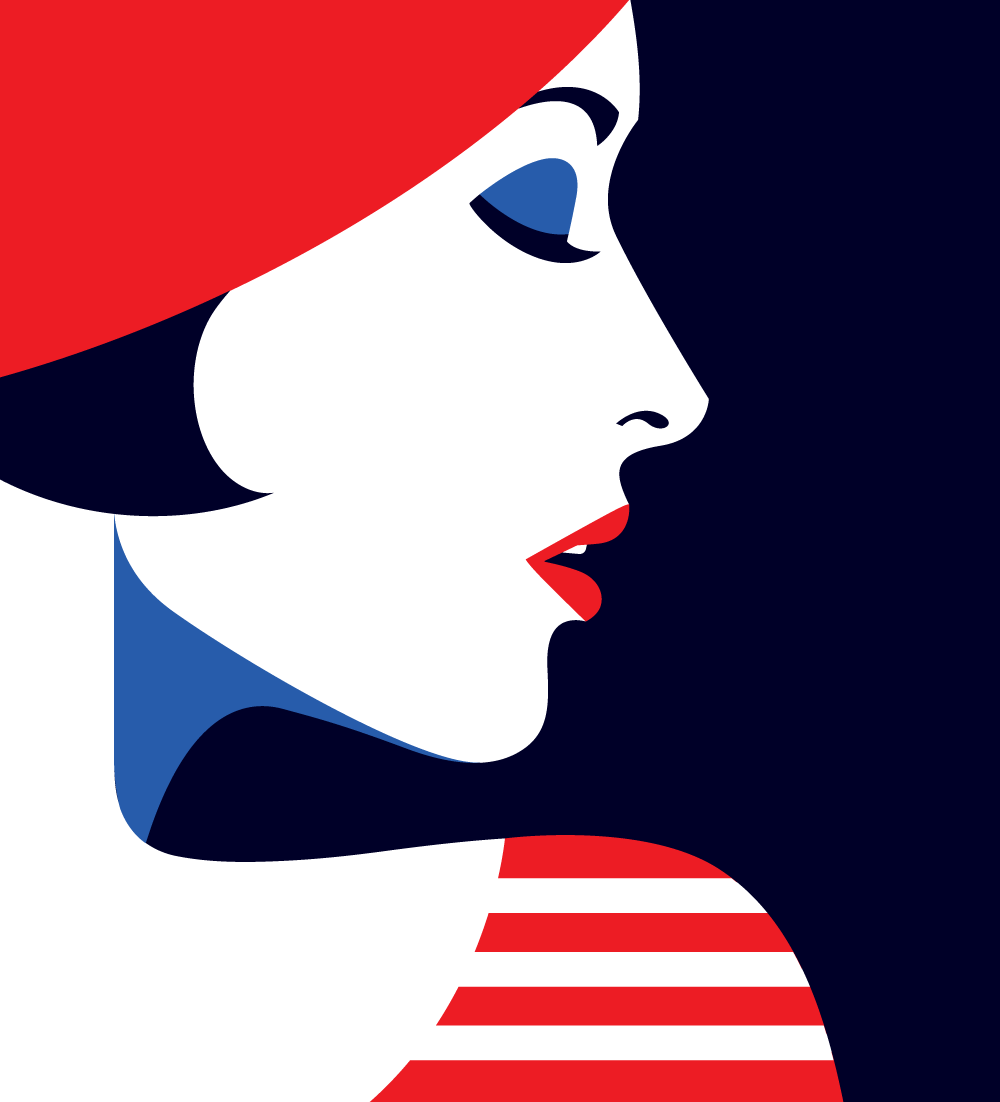 Art Illustration: Bold And Minimal: Illustrations By Malika Favre