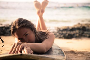 Unzipped in Siargao: Anna Goes Surfing