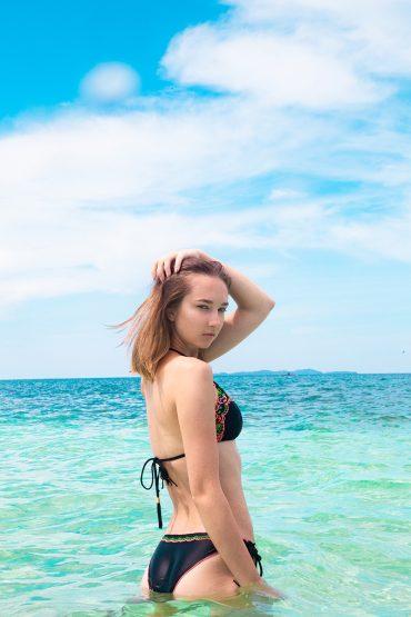 Unzipped: Anna at the Beach